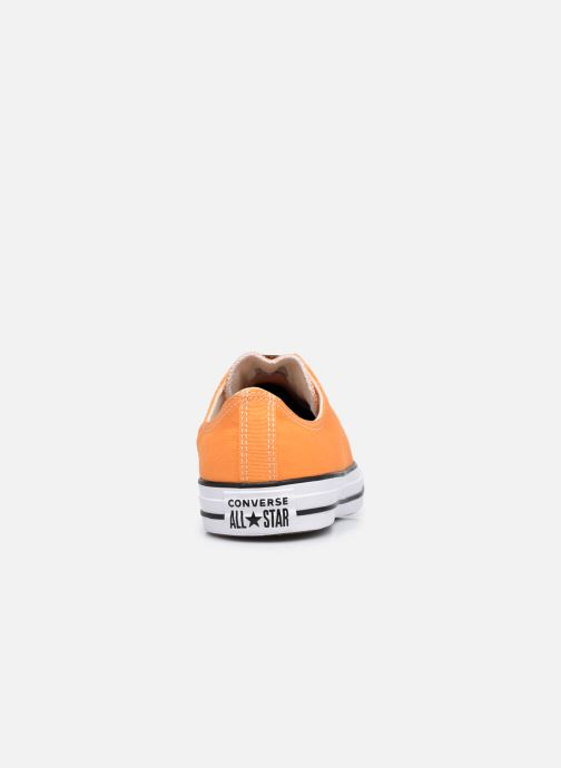 Sneakers Converse Chuck Taylor All Star Seasonal Color Ox M Arancione immagine destra