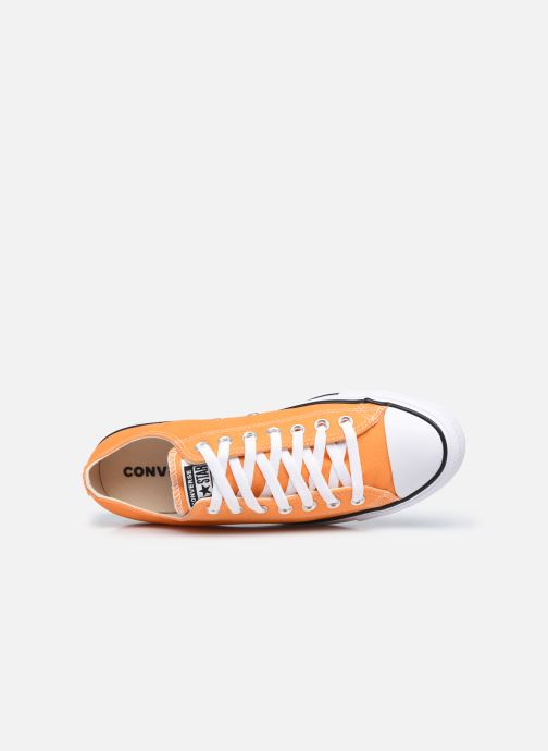 Baskets Converse Chuck Taylor All Star Seasonal Color Ox M Orange vue gauche