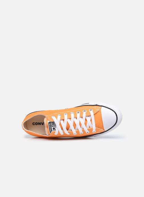 Sneakers Converse Chuck Taylor All Star Seasonal Color Ox M Arancione immagine sinistra