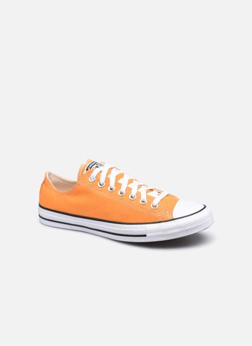 Baskets Converse Chuck Taylor All Star Seasonal Color Ox M Orange vue détail/paire