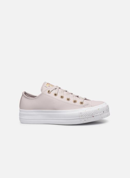Baskets Converse Chuck Taylor All Star Lift Precious Metals Ox Rouge vue derrière