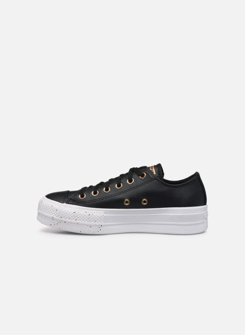 Baskets Converse Chuck Taylor All Star Lift Precious Metals Ox Noir vue face