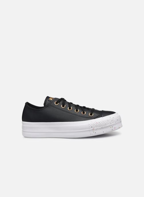 Baskets Converse Chuck Taylor All Star Lift Precious Metals Ox Noir vue derrière