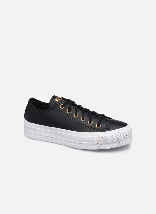 Baskets Converse Chuck Taylor All Star Lift Precious Metals Ox Noir vue détail/paire