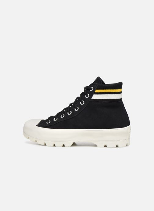 Trainers Converse Chuck Taylor All Star Lugged Varsity Remix Hi Black front view
