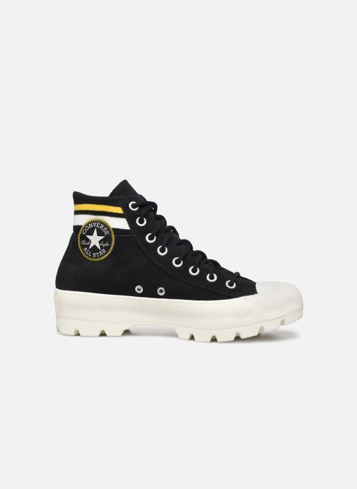 Trainers Converse Chuck Taylor All Star Lugged Varsity Remix Hi Black back view