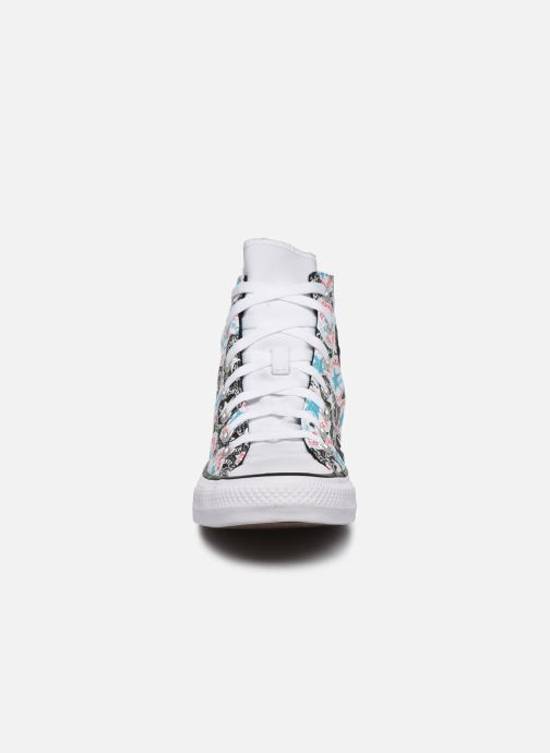 Baskets Converse Chuck Taylor All Star Logo Play Hi W Multicolore vue portées chaussures