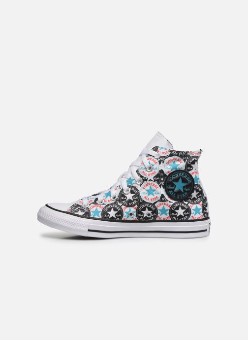 Baskets Converse Chuck Taylor All Star Logo Play Hi W Multicolore vue face
