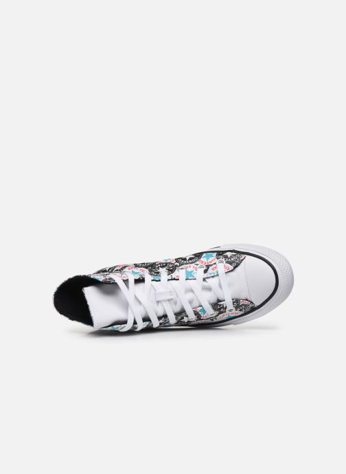Trainers Converse Chuck Taylor All Star Logo Play Hi W Multicolor view from the left