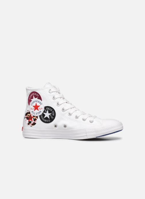 Baskets Converse Chuck Taylor All Star Logo Play Hi W Blanc vue derrière