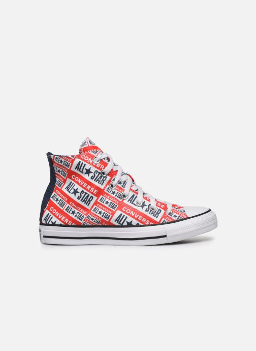 Baskets Converse Chuck Taylor All Star Logo Play Hi W Rouge vue derrière
