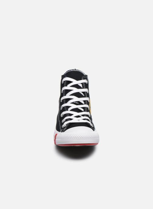Baskets Converse Chuck Taylor All Star Logo Play Hi W Noir vue portées chaussures