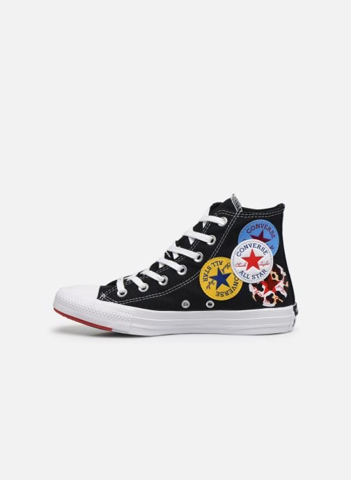 Baskets Converse Chuck Taylor All Star Logo Play Hi W Noir vue face