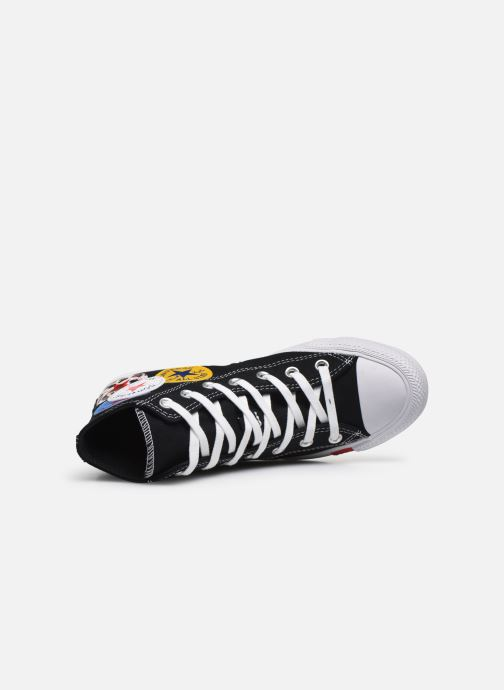 Baskets Converse Chuck Taylor All Star Logo Play Hi W Noir vue gauche