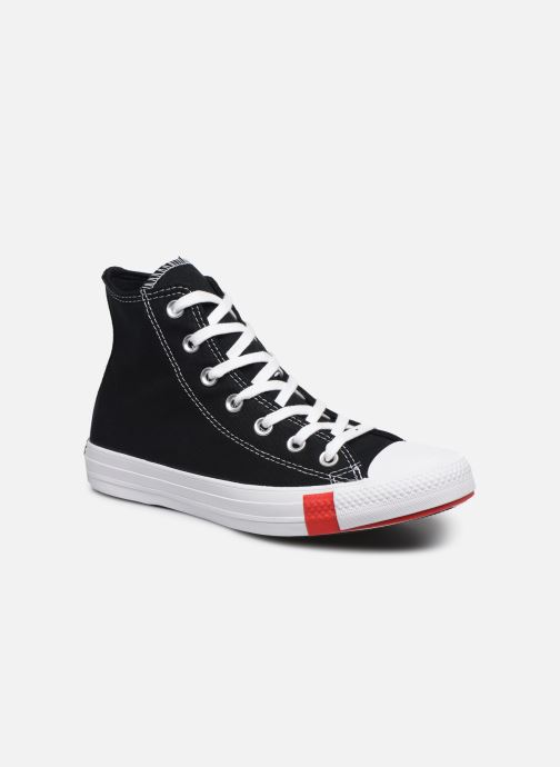 Baskets Converse Chuck Taylor All Star Logo Play Hi W Noir vue détail/paire