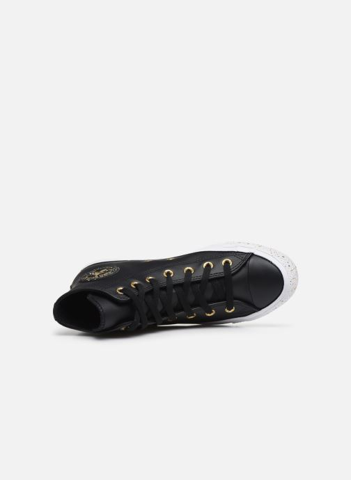 Trainers Converse Chuck Taylor All Star Precious Metals Hi Black view from the left