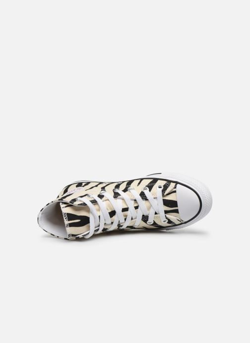 Sneakers Converse Chuck Taylor All Star Archive Print Hi Beige immagine sinistra