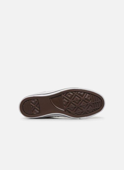 Sneakers Converse Chuck Taylor All Star Archive Print Hi Beige immagine dall'alto