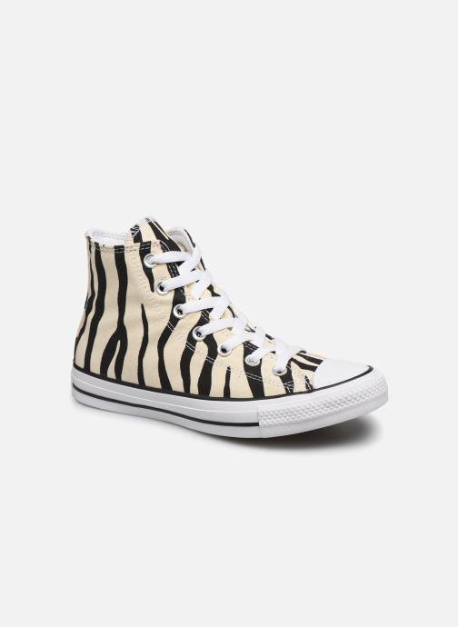 Sneakers Converse Chuck Taylor All Star Archive Print Hi Beige vedi dettaglio/paio