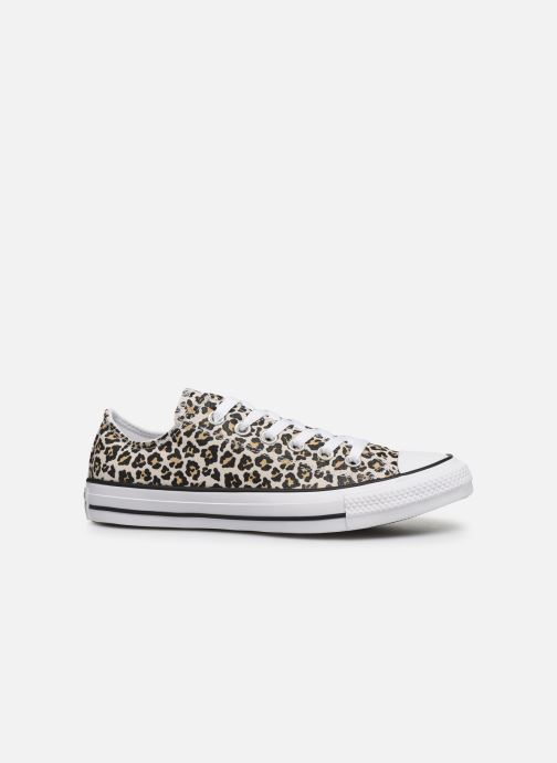 Deportivas Converse Chuck Taylor All Star Archive Print Ox Beige vistra trasera