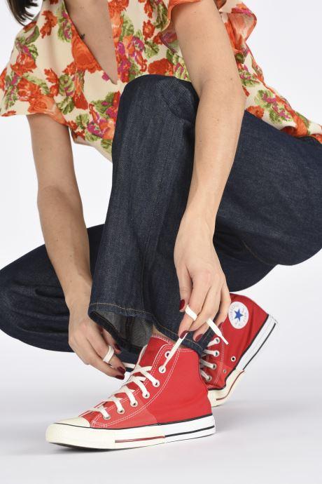Sneakers Converse Chuck Taylor All Star Self Expression Hi W Rosso immagine dal basso