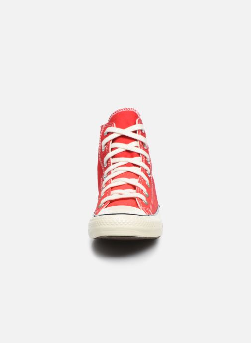 Baskets Converse Chuck Taylor All Star Self Expression Hi W Rouge vue portées chaussures