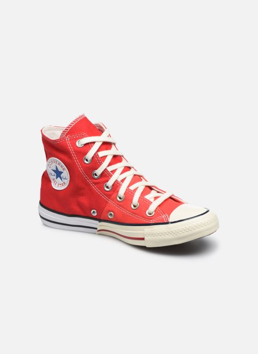 Baskets Converse Chuck Taylor All Star Self Expression Hi W Rouge vue détail/paire