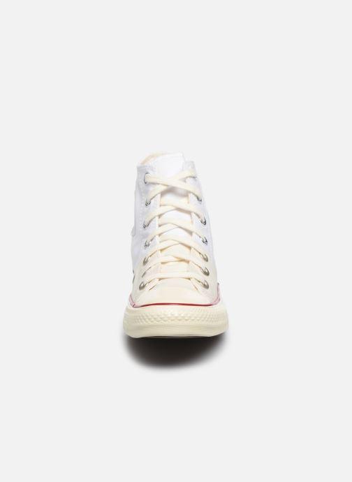 Baskets Converse Chuck Taylor All Star Self Expression Hi W Blanc vue portées chaussures