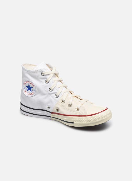 Baskets Converse Chuck Taylor All Star Self Expression Hi W Blanc vue détail/paire