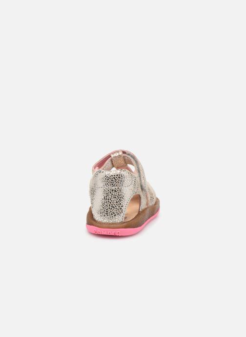 Sandales et nu-pieds Camper Bicho FW Argent vue droite