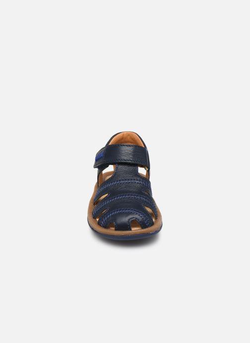 Sandali e scarpe aperte Camper Bicho FW Azzurro modello indossato