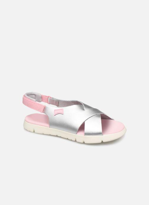 Sandales et nu-pieds Camper Oruga New Argent vue détail/paire