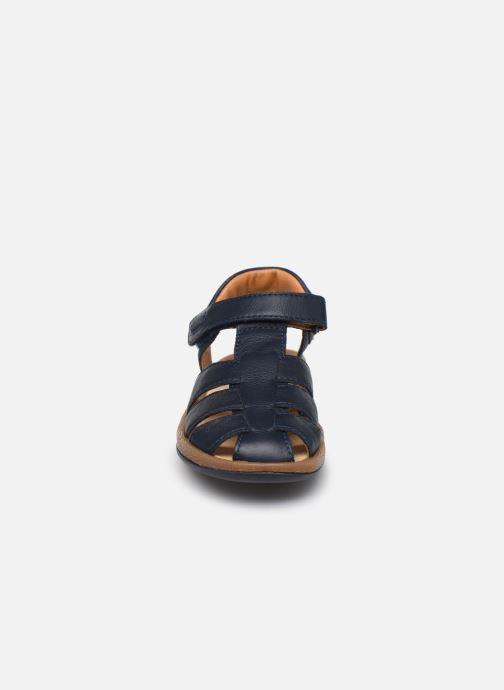 Sandales et nu-pieds Camper Bicho E N Bleu vue portées chaussures