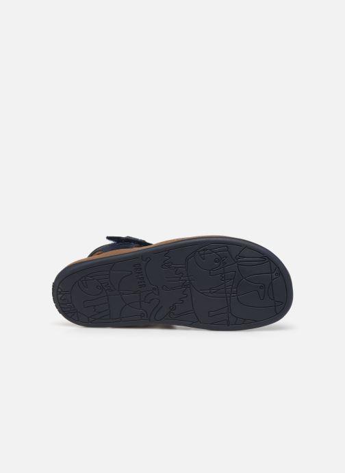 Sandalen Camper Bicho E N blau ansicht von oben