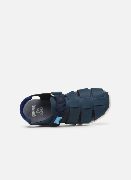 Sandalen Camper ORUGA 800242 blau ansicht von links