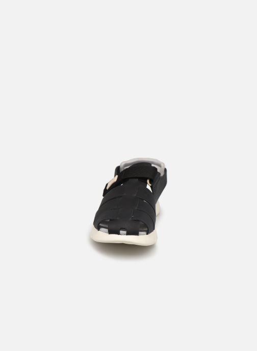 Sandalen Camper ORUGA 800242 schwarz schuhe getragen