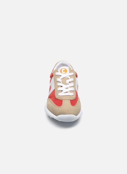 Baskets Camper Driftie 800386 Rouge vue portées chaussures