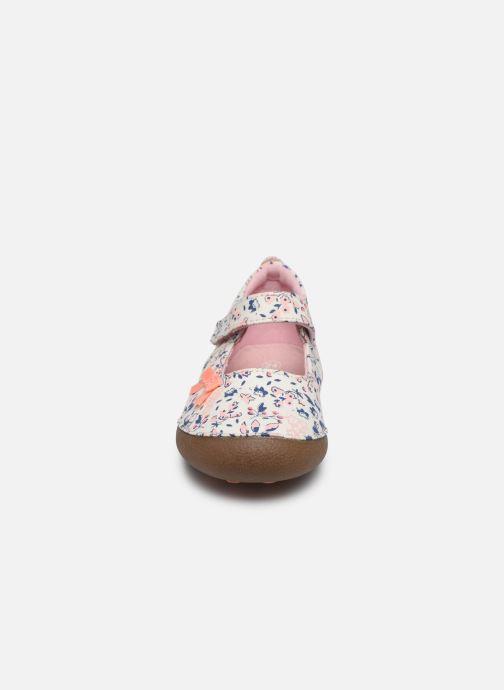 Pantofole Vertbaudet BF - Chausson VB Rosa modello indossato