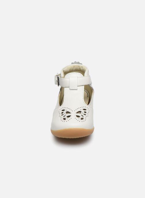 Ballerines Vertbaudet BF - Salomé VB Blanc vue portées chaussures