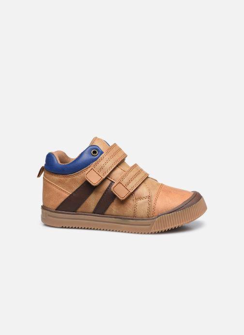 Sneakers Vertbaudet KG - Basket haute Marrone immagine posteriore