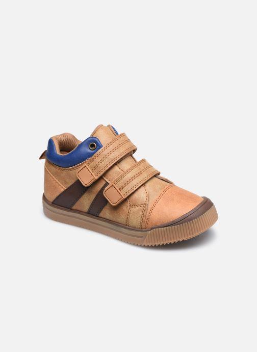 Sneakers Vertbaudet KG - Basket haute Marrone vedi dettaglio/paio