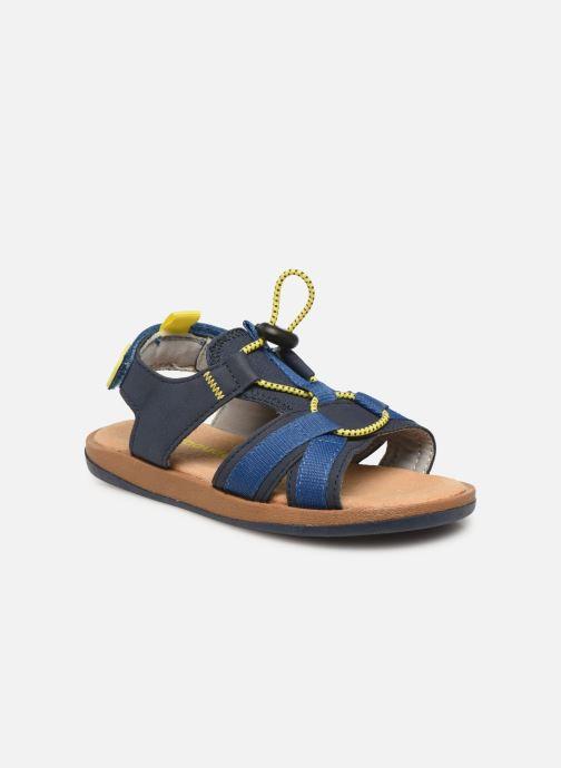 Sandalias Vertbaudet KG- Sandales stoppeur Azul vista de detalle / par
