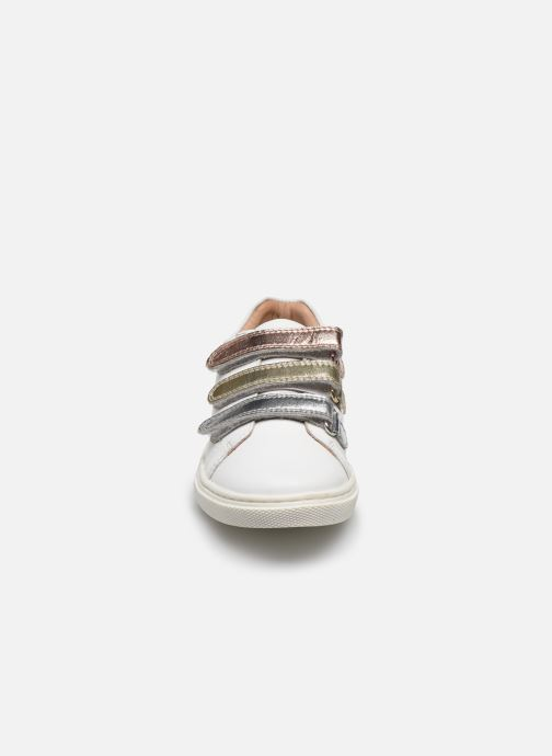 Sneakers Vertbaudet KF - Basket basse Bianco modello indossato