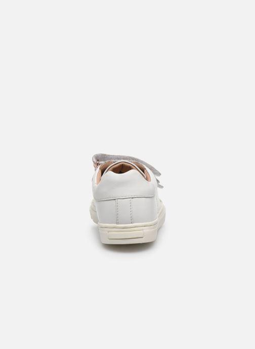Sneakers Vertbaudet KF - Basket basse Bianco immagine destra