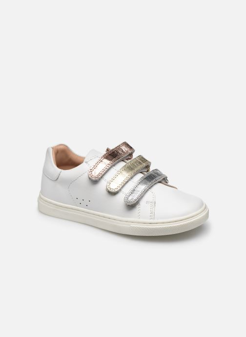 Sneakers Vertbaudet KF - Basket basse Bianco vedi dettaglio/paio