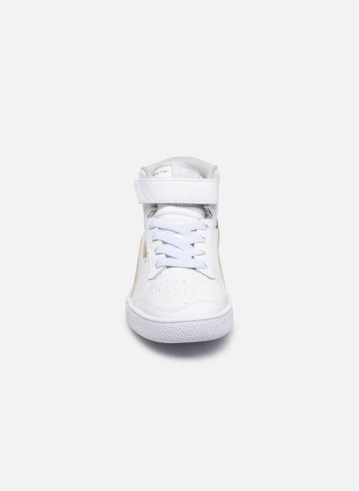 Baskets Puma Ralph Sampson Mid V Blanc vue portées chaussures