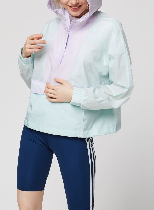 Kleding adidas performance W Cropped W.Rdy Paars detail