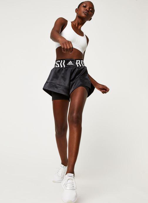 Vêtements adidas performance Tko Short Noir vue bas / vue portée sac