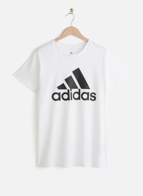 Vêtements adidas performance W Bos Co T Inclusive-Sizing Blanc vue détail/paire