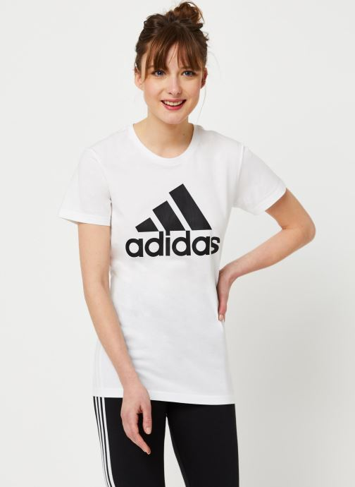 Kleding adidas performance W Bos Co Tee Wit rechts